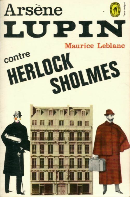 Arsène Lupin contre Herlock Sholmes - Maurice Leblanc – Livre d'occasion