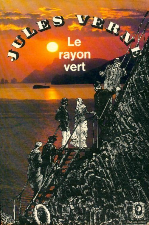 Le rayon vert - Jules Verne – Livre d'occasion