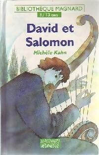 David et Salomon - Michèle Kahn – Livre d'occasion