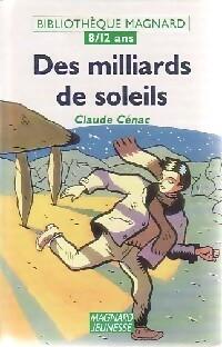 Des milliards de soleils - Claude Cénac – Livre d'occasion