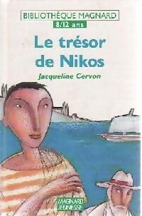 Le trésor de Nikos - Jacqueline Cervon – Livre d'occasion