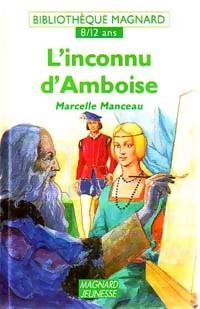 L'inconnu d'Amboise - Marcelle Manceau – Livre d'occasion