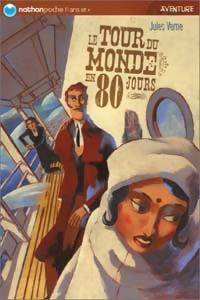 Le tour du monde en 80 jours - Jules Verne – Livre d'occasion