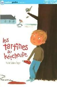 Les tartines au kétcheupe - Marie-Sabine Roger – Livre d'occasion