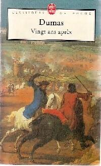 Vingt ans après - Alexandre Dumas – Livre d'occasion