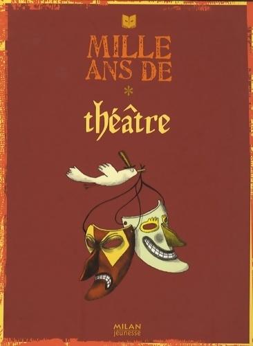 Mille ans de théâtre - Pierre Trapet – Livre d'occasion